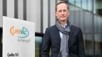 Curevac-Chef Franz-Werner Haas blickt schon auf ein neues Impfstoffprojekt.