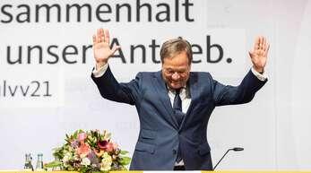 Beim Heimspiel in Nordrhein-Westfalen hat Armin Laschet am Samstag viel Applaus bekommen – aber auch am Sonntag in Sachsen-Anhalt lief es gut für den Bundesvorsitzenden.
