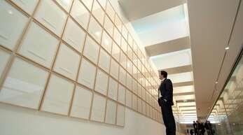Auch die Rahmen für Ausstellungen müssen Künstler in der Regel selbst bezahlen.