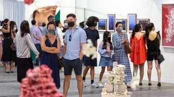 In Hongkong konnte die Ausgabe der Art Basel im Frühjahr stattfinden.