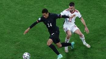 Deutschland um den jungen Jamal Musiala spielt am Dienstag gegen England.