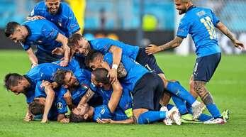 Die italienische Nationalmannschaft hat derzeit viel Grund zum Jubeln.