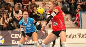 Pia Leweling, hier noch im Trikot des VC Kanti Schaffhausen, geht künftig für den VC Wiesbaden auf Punktejagd.