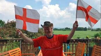 Garry Preston drückt England die Daumen.