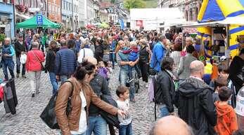 """Wann es wieder ganz """"normale"""" verkaufsoffene Sonntage geben wird wie hier im Herbst 2019 in Wolfach ist offen – doch erste Pläne schmieden die Kinzigtäler wieder."""