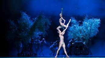 "Szene aus dem Ballett""Ein Sommernachtstraum"" von John Neumeier."