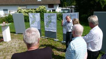 """Bereits im Juni 2018 gab es eine Bürgerinformation zurgeplanten Umgestaltung der Ortsmitte Marlen (Foto). Nun diskutierte der Ortschaftsrat Goldscheuer die Vorschläge dreier Ingenieurbüros zur Gestaltung des """"Georg-Krämer-Platzes"""" in Marlen."""