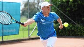 Bohdan Ulihrach agierte von der Grundlinie gewohnt stark und gewann sein Einzel souverän.