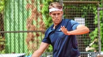Luca Mack gewann das Spitzeneinzel im Derby gegen Oberweier II im Match-Tiebreak.