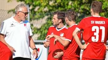 Beim SV Hausach um Trainer Manfred Hellmig (von links) und den spielenden Co-Trainer Manuel Buchholz besteht wieder erhöhter Redebedarf.