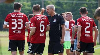 SG Ichenheim/Altenheim Trainer Christian Thau.