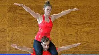 Nach langer Wettkampfpause fuhren Dénes Füssel und Lisa Schwendemann auf den dritten Platz.