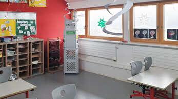 Vorreiterrolle: Die Fritz-Ullmann-Grundschule in Fischerbach ist bereits seit den Weihnachtsferien mit insgesamt vier Luftreinigungsgeräten ausgestattet (wir berichteten).