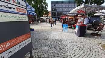 Im Frühherbst 2023 soll die Neugestaltung von Rathaus- und Marktplatz in Achern abgeschlossen sein.