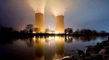 Das Kernkraftwerk Grohnde in Niedersachsen soll Ende 2021 nach 37 Jahren vom Netz gehen.
