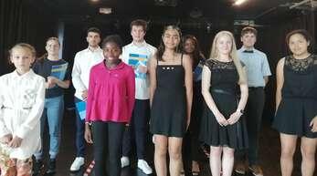 Leuchtende Augen bei den Schülern der Violin- und Klavierklasse bei ihrem Konzert im Kulturhaus.