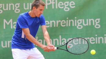 Bastian Bross steht auch am Wochenende im Aufgebot des TC BW Oberweier.