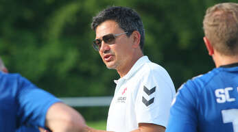 Andrej Zerr trainiert die zweite Mannschaft des SC Lahr nun bereits im dritten Jahr.