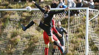 Daniel Sturm und der SV Ödsbach wollen nichts mit dem Abstiegskampf zu tun haben.