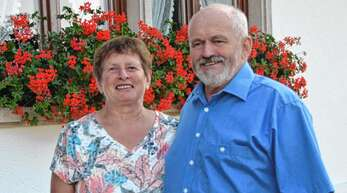 Rosa-Maria und Erhard Neumaier von der Hofstetter Breitebene feiern am 31. Juli goldene Hochzeit.