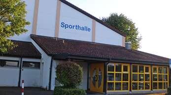 35 Jahre hat die Zunsweierer Sporthalle bereits auf dem Buckel.