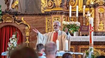 Das Feiern von Gottesdiensten war für Pfarrer Helmut Steidel in den vergangenen Jahrzehnten immer die Basis seiner Arbeit als Seelsorger.