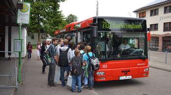 Die Schülerbeförderung kostet die Stadt Wolfach viel Geld. Symbolfoto.