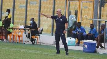 Rainer Kraft steht seit 2019 an der Seitenlinie bei den Accra Lions in Ghana.