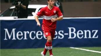 Damals noch beim VfB Stuttgart: Joshua Kimmich ist der heute bekannteste Fußballer, der beim Juniorcup in den vergangenen zehn Jahren als bester Spieler des Turniers ausgezeichnet wurde.