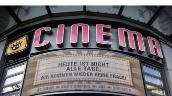 Kein leeres Versprechen: Die Stuttgarter Kinos, hier das Cinema am Schlossplatz, haben die Krise überstanden.