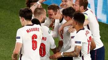 England jubelt über den Einzug ins EM-Halbfinale.