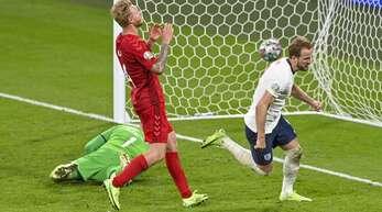 Dänemark unterlag England im EM-Halbfinale.