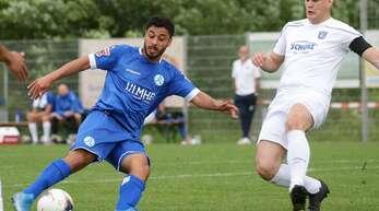 Mohamed Baroudi (li.) steht für den Weg der Stuttgarter Kickers, auch auf eigene Talente zu setzen.