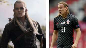 Legolas und Domagoj Vida könnten Brüder sein.
