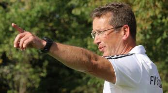 FVS-Trainer Helmut Kröll sieht der Saison zuversichtlich entgegen.