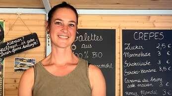 Fanny Ezannic hat sich mit ihrem eigenen Crêpes-Stand einen Traum erfüllt.