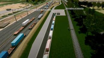 Ex-Projektleiter und Baubürgermeister a. D. Horst Kiefert sieht den Güterzugtunnel kritisch.