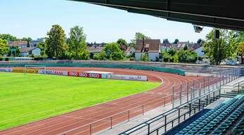 Das Kehler Rheinstadion ist am Samstag wieder mal Schauplatz des Klassikers KFV gegen OFV.
