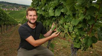 Johannes Werner (Foto), Weinbauberater im Ortenaukreis.