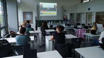 """""""Digitale Medien im Unterricht"""" lautete das Thema bei den Kaufmännischen Schulen Offenburg."""