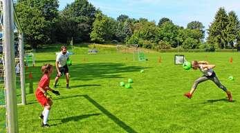 Der könnte passen: Beim Fußballverein Rammersweier gab es viele Möglichkeiten, ein Tor zu erzielen.