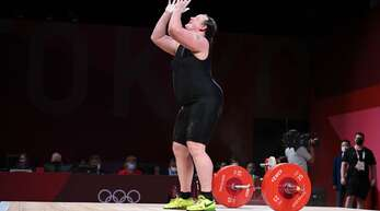 Laurel Hubbard verpasste eine Medaille.