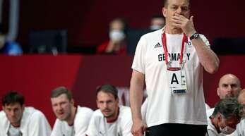 Ratlose Gesichter beim deutschen Handball-Nationalteam, das gegen Ägypten scheiterte.