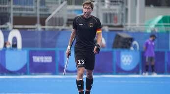 Kapitän Tobias Hauke tritt diesmal die Heimreise ohne Medaille an.