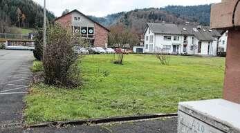 Zwischen Ortsverwaltung und Schule soll in Ramsbach ein neuer, sechsgruppiger Kindergarten gebaut werden.