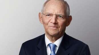 Wolfgang Schäuble steht bei der CDU auf Platz eins.