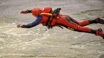 Wenn es fließt, ist Strömungsretter Torsten Huber in seinem Element.