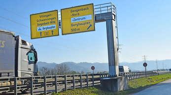 Der Verkehrslärm auf der B33 bei Berghaupten ist weiter Thema.