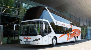 Wieder im Verkehr: Touristische Fahrten mit Reisebussen sind inzidenzunabhängig möglich. Voraussetzung ist seit Mitte August, dass die Gäste gegen Corona geimpft, genesen oder negativ getestet sind.