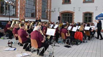Am Samstag bestreitet der Musikverein Konkordia sein erstes Konzert nach dem Lockdown – beim Herbstfest auf dem Mühlplatz.